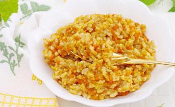 カレーの玄米リゾットはそのままでも美味しく食べられます